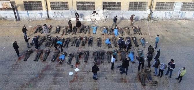 Suriye'de 21'i Çocuk 114 Kişi Katledildi