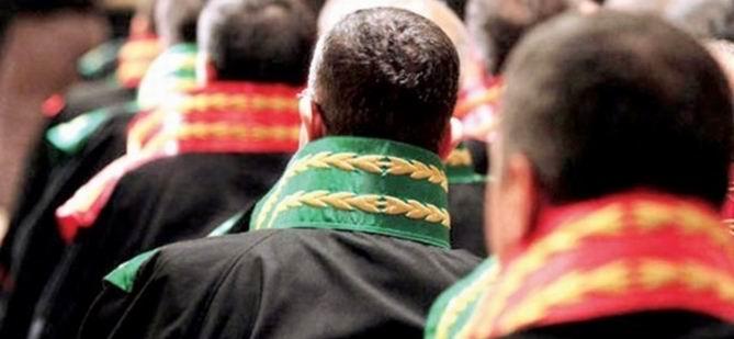 HSYK 888 Hakim ve Savcının Yerini Değiştirdi