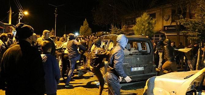 Lice'de Hüda-Par Üyelerine Çirkin Saldırı