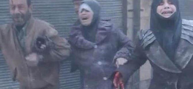 Varil Bombaları Halep'i Harabeye Çevirdi