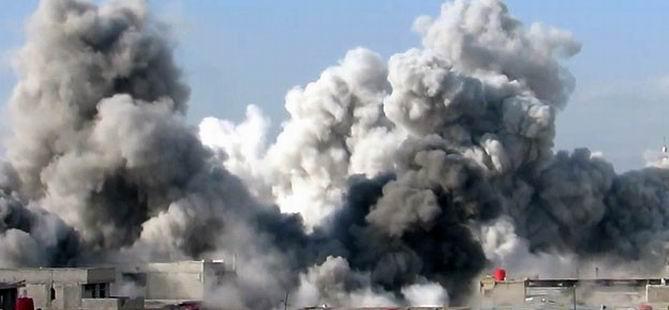Varil Bombası Düşmeden İmha Edildi (VİDEO)