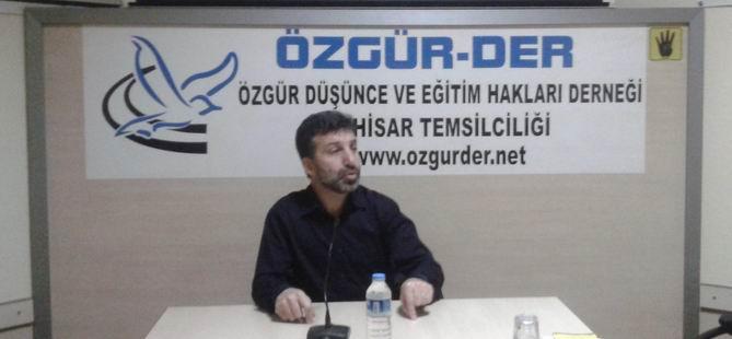 Akhisar'da ''Demokrasi Kavramı ve Tartışmalar'' Semineri