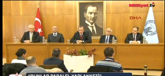 """Erdoğan 'dan Zaman'a Mesaj: """"Patronların Duymuştur"""""""