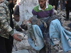 Rejim Güçleri 3 Çocuk ve 5 Kadını Katletti