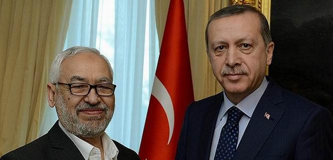 Erdoğan, Gannuşi ile Görüştü
