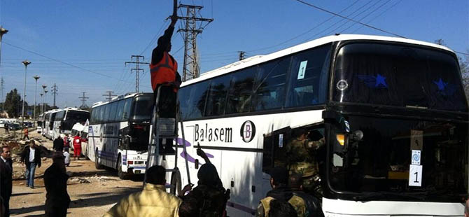 Kuşatma Altındaki Humus'ta 200 Kişi Tahliye Ediliyor