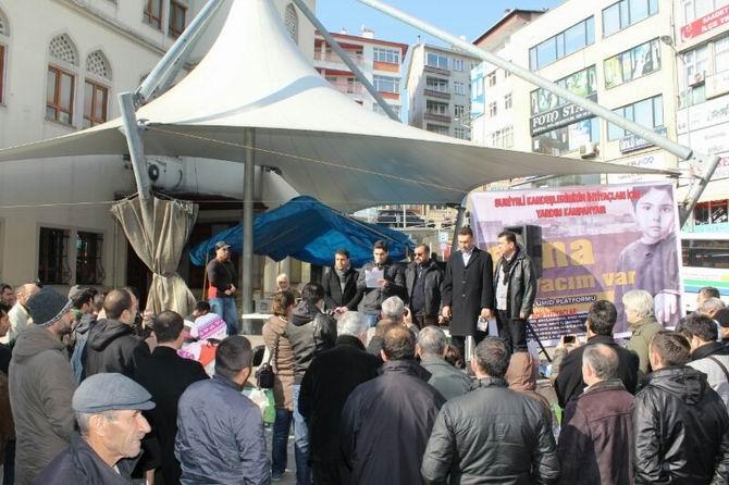 Ereğli'de Suriye İçin Yardım Kampanyası