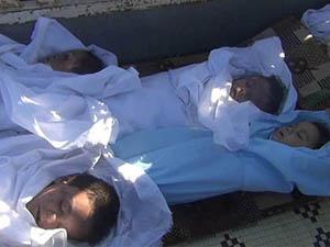 Suriye'de Şubat Ayında 3.379 Kişi Katledildi