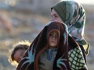Humus'taki Tahliyelerden İlginç Görüntüler (VİDEO)