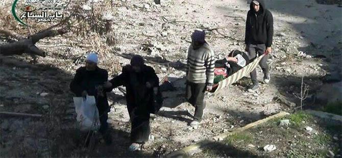 Mesekin Hanano'da Yine Varil Katliamı: 23 Şehit (VİDEO)