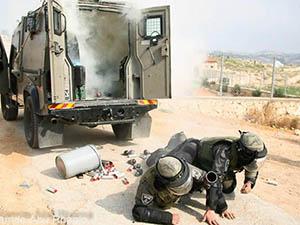 İsrail Askerlerinin Neşelendiren Kazası (FOTO)