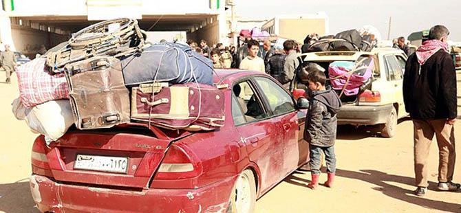 Suriye Halkı Varil Bombalarından Kaçıyor