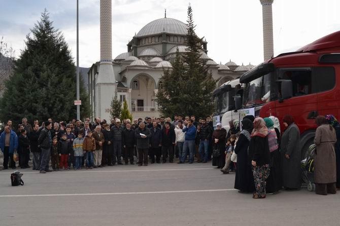 Amasya ve Tokat'tan Mazlum Suriye Halkına Destek