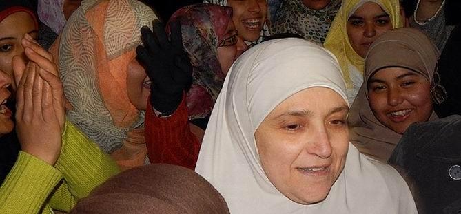 Mursi'nin Eşi de Gösterilere Katıldı