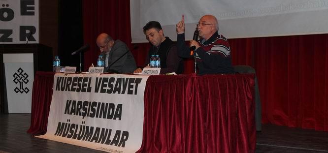 """Bartın'da """"Vesayet Karşısında Müslümanlar"""" Paneli"""
