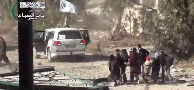 Humus'ta Tahliye Edilenler Sorgulanıyor