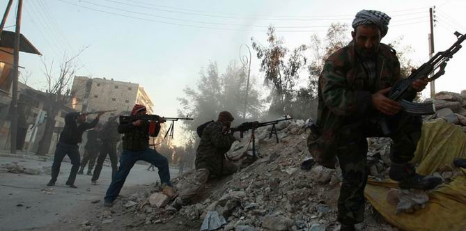 Suriye Devrimciler Cephesi'nden Yedi Komutan Cenevre'de