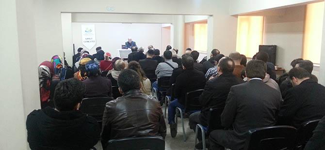 """Düzce'de """"Kur'an ve Hayat İlişkisi"""" Konferansı"""