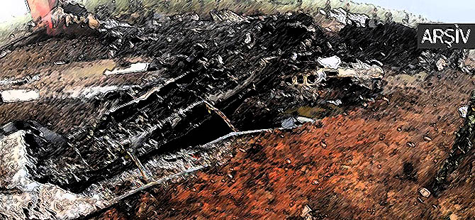 Cezayir'de Uçak Düştü: 103 Ölü!