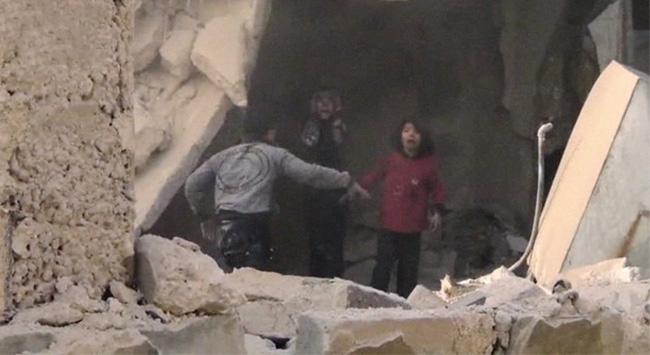 """Suriye'de Korkunç """"Enkaz"""" Gerçeği"""