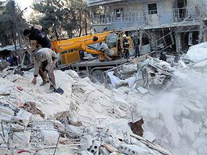 Halep'te Enkaz Altında 700 Ceset Var