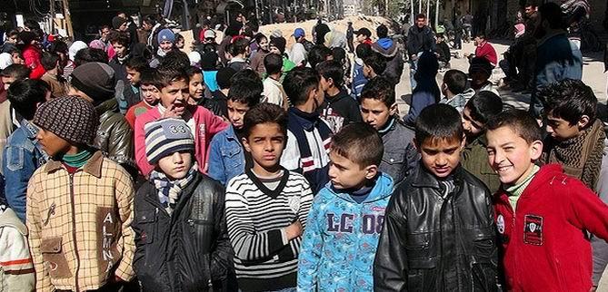 Yermuk'ta 217 Gün Sonra Sokaklarda Oyun Oynadılar