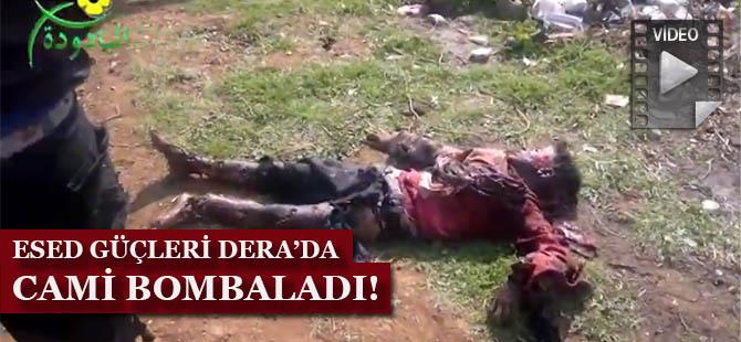 Esed Güçleri Dera'da Cami Bombaladı! (VİDEO)