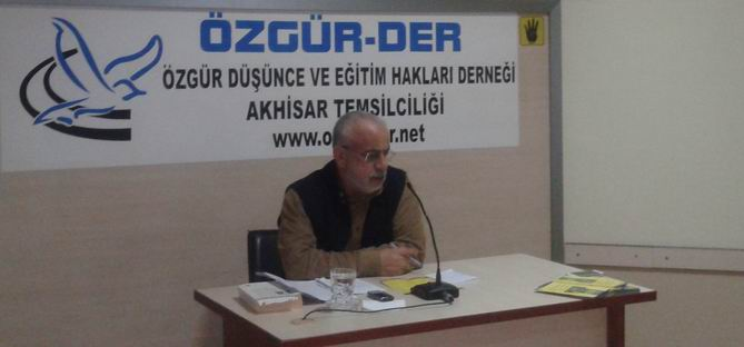 "Akhisar'da ''Milliyetçilik ve Kemalizm"" Semineri"