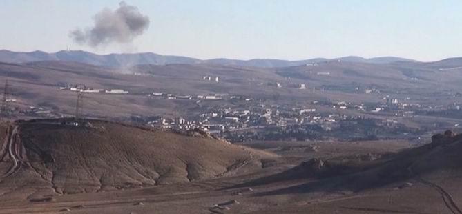 Baas Rejimi Yebrud'a Saldırıyor