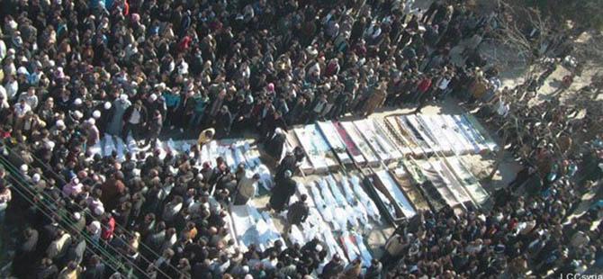 SOHR Raporuna Göre Suriye'de Ölü Sayısı 140 Bini Aştı!