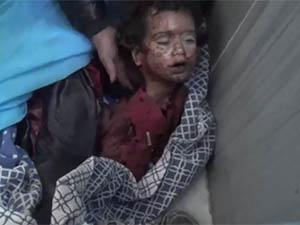 Dera'da Okul Katliamının Görüntüleri! (VİDEO)
