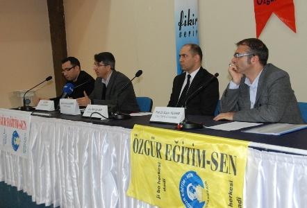 Özgür Eğitim-Sen Panelinde Eğitim-İktidar İlişkisi Tartışıldı