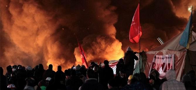Ukrayna'da Gece Baskını: 21 Ölü