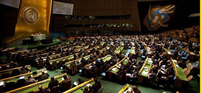 """BM'ye """"Filistin Devleti Kurulsun"""" Tasarısı"""