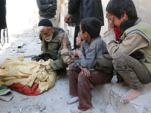 Suriye'de Dün 59 Kardeşimiz Katledildi (VİDEO)