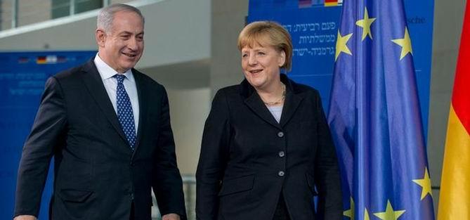 Merkel, İsrail Yolcusu