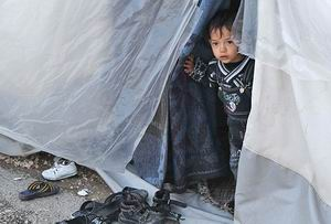 Halep'te Şubat Ayında 500 Bin Kişi Evini Terk Etti