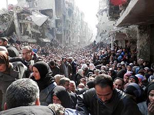 Yermuk'taki İnsanlar Susuzluktan Ölümle Karşı Karşıya