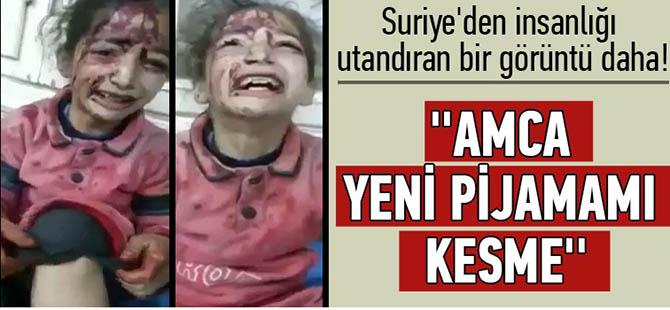 Suriye'den İnsanlığı Utandıran Bir Görüntü Daha!