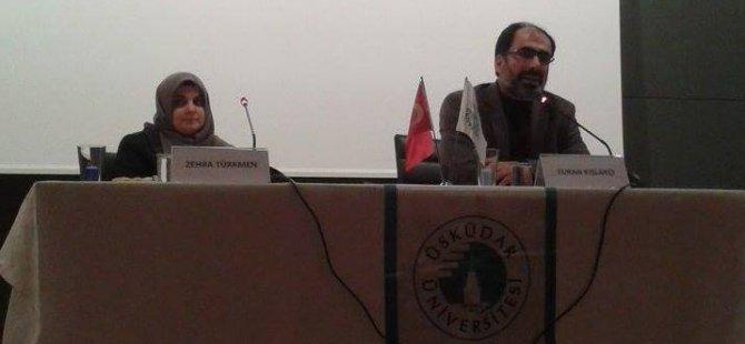 Üsküdar Üniversitesi'nde Suriye Konuşuldu