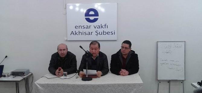 Akhisar'da 28 Şubat Darbesine Protesto