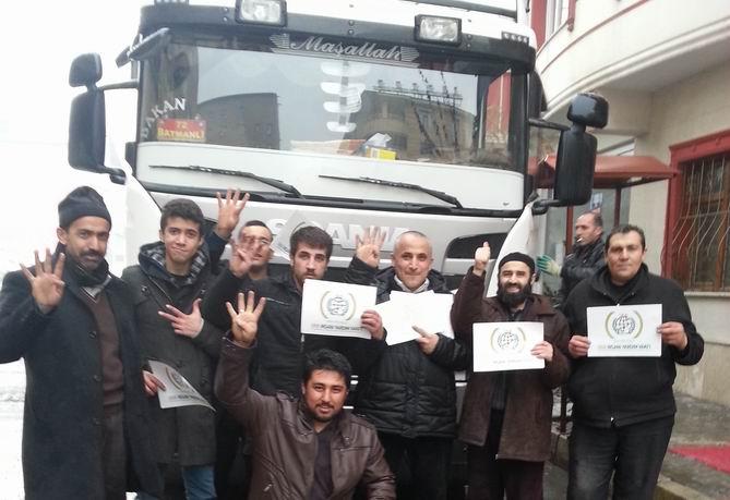 Muş'tan Suriye'ye 1 Tır Yardım