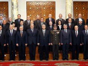 Mısır'da Yeni Cunta Hükümeti Göreve Başladı