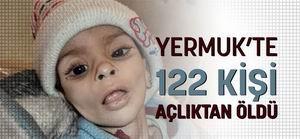 Yermuk'ta 122 Kişi Açlıktan Öldü