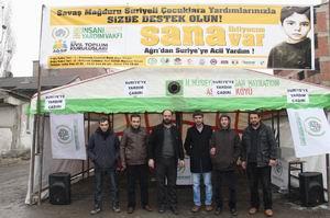 AĞ-SİP Suriye İçin Yardım Kampanyasını Başlattı