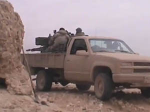 Kalamun ve Yebrud'da Şiddetli Çatışmalar (VİDEO)