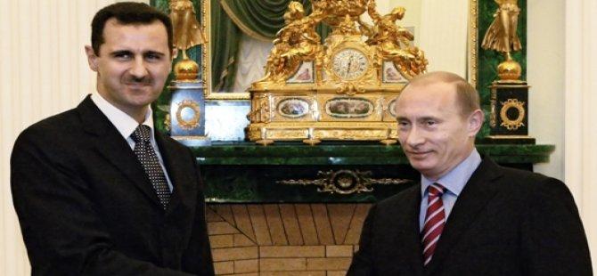Putin'in Suriye'deki büyük oyunu