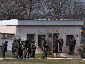 Çernomorskoe Karakolu da Rus Askerlerinin İşgalinde