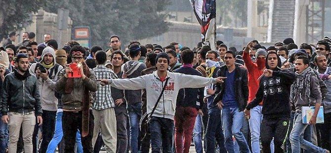 "Darbe Karşıtı Öğrencilerden ""Polis"" Protestosu"