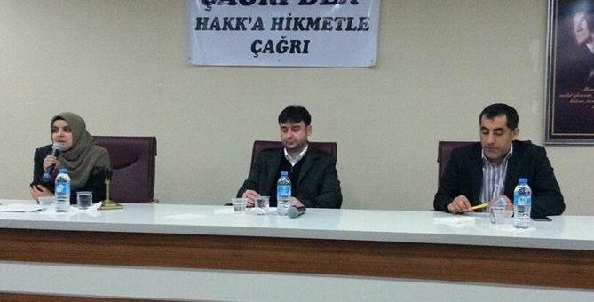 Çağrı-Der'de İslam Dünyası Paneli